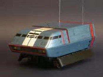 Thunderbirds Zero X MEV Vehicle Model Kit By UNCL